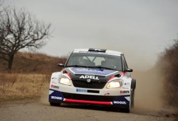 Test Škoda Fabia Super 2000 - Hustopeče 14. 3. 2012