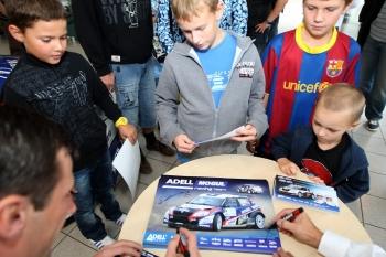 Autogramiáda Barum Czech Rally Zlín 31. 8. 2012 (Josef Petrů)