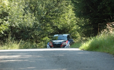 Test na Barum Czech Rally Zlín 2011