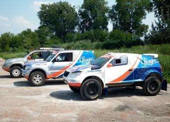 Silk Way 2012 - příprava vozů