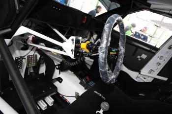 Testování Škoda Fabia Super 2000 před Valašskou rally 2011