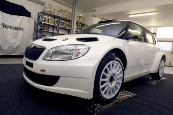 Škoda Fabia Super 2000 na rok 2012 (Josef Petrů)
