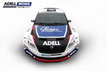 Škody Fabia Super 2000 na rok 2012 týmu Kresta Racing (J. Petrů)