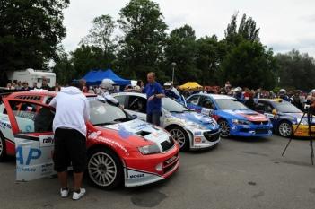 Rally Show Hradec Králové 2010